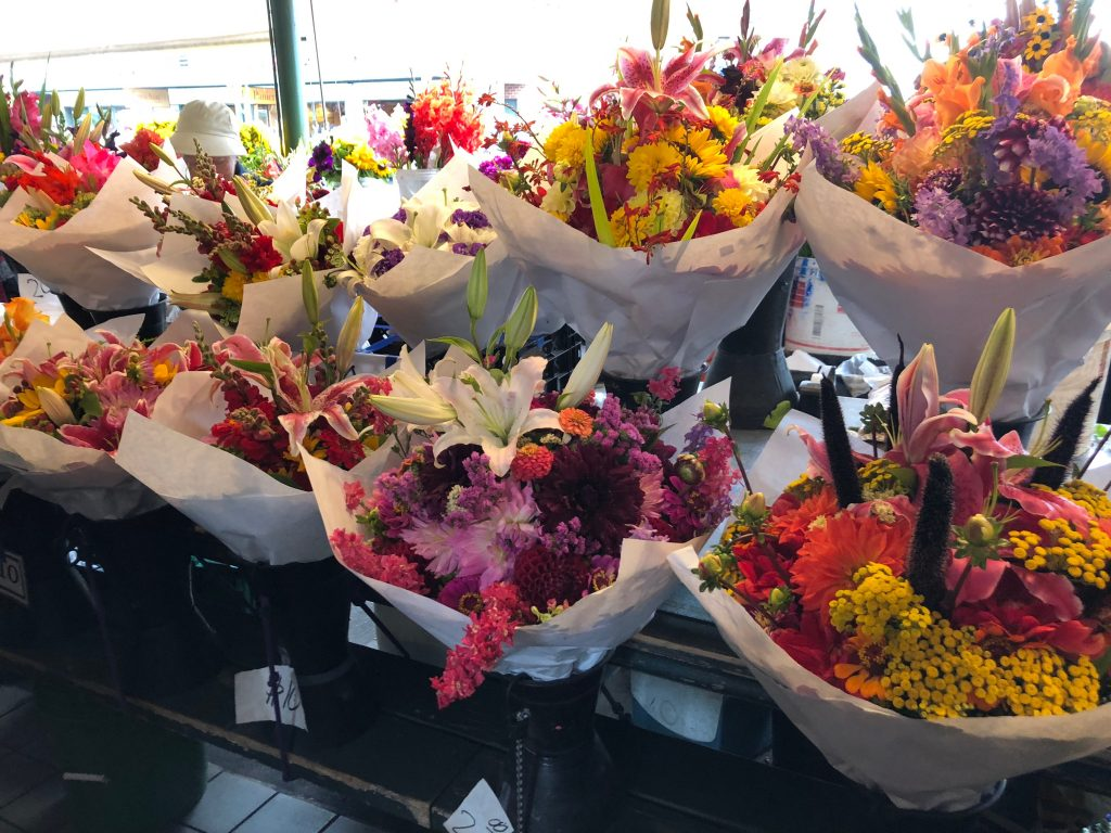You can't beat the flowers at Pike's Place Market!