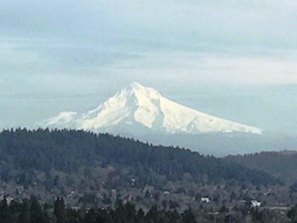 Mount Hood is a beauty