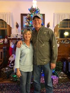 Celebrating Christmas at Annette & Ron