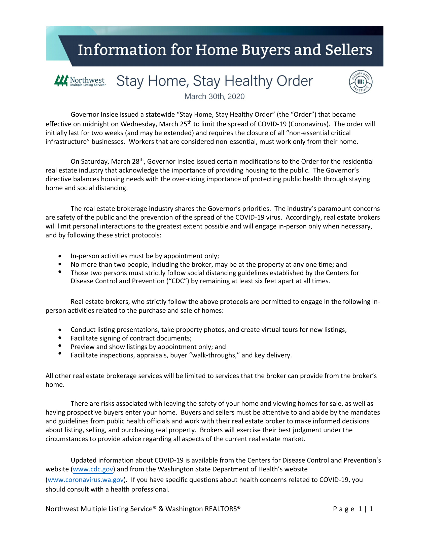 3.31.2020 Information for Home Buyers and Sellers Stay Home, Stay Healthy Order[11978]_Page_1